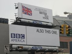 I seriously watch more British television than anything else.