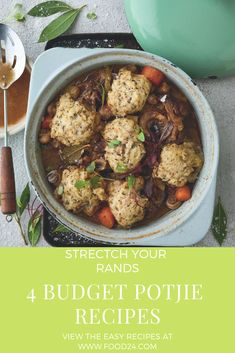 4 Great potjie tips to feed a crowd and stretch your Rands this month Salted Caramel Fudge, Salted Caramels, South African Recipes, Ethnic Recipes, Oxtail, Oreo Cake, Feeding A Crowd, Russian Recipes, Hand Pies