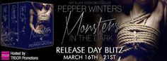Romance and Fantasy for Cosmopolitan Girls: RELEASE DAY: Monsters in the Dark by Pepper Winter...