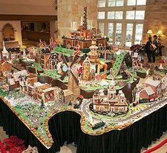 Christmas in Who-ville Gingerbread Village