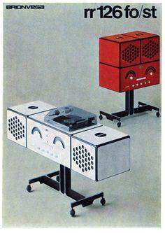 Bob Noorda — Brionvega brochure (1970)