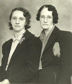 Lorene Elis Hicken (Grandma) Anna Mae White Elis (Great Grandma)