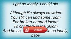 Elvis Presley Heartbreak Hotel Lyrics  Elvis Presley Heartbreak Hotel Lyrics