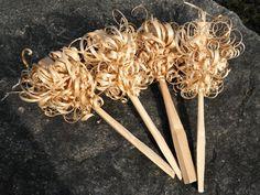 Gorgeous feather sticks!