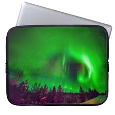 Choose from a variety of laptop sleeves or make your own! Shop now for custom laptop sleeves & more! Neoprene Laptop Sleeve, Laptop Sleeves, Custom Laptop, Finland, Aurora, Northern Lights