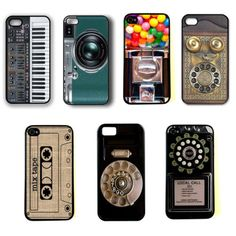 Retro Vintage Camera Phone Piano CD Hard Case Cover Skin for iPhone 4 4S 5 5c | eBay