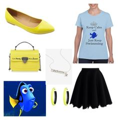 """""""Dory"""" by bwilliamson102976 on Polyvore featuring Chicwish, Bella Marie, Le Pandorine and Alexis Bittar"""