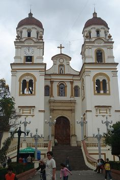 Church at the main plaza of Guasca, Cundinamarca, Colombia. Find us on Facebook: https://www.facebook.com/Going2Colombia