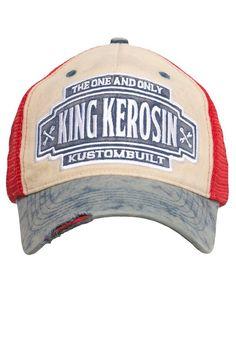 the best attitude 1652e a35ae KingKerosin Trucker Cap, im Vintage-Look für 34,95€. King Kerosin