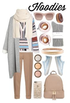 """Hoodies."" by pixiesnshit ❤ liked on Polyvore featuring Martha Stewart, Bottega Veneta, Tory Burch, MICHAEL Michael Kors, Vans, By Terry, Casetify, Chanel, Splendid and STELLA McCARTNEY"