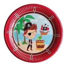 George Home Pirate Paper Plates - ASDA Groceries Party Tableware, Asda, Paper Plates, Pirates, Decorative Plates, Shopping, Design, Home Decor, Room Decor