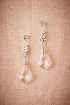 Crystal Ship Chandelier Earrings