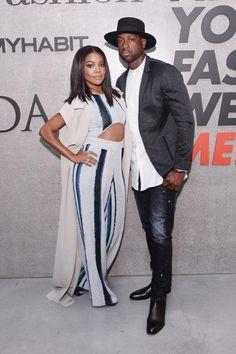 We love a stylish couple like Gabrielle Union  and Dwyane Wade