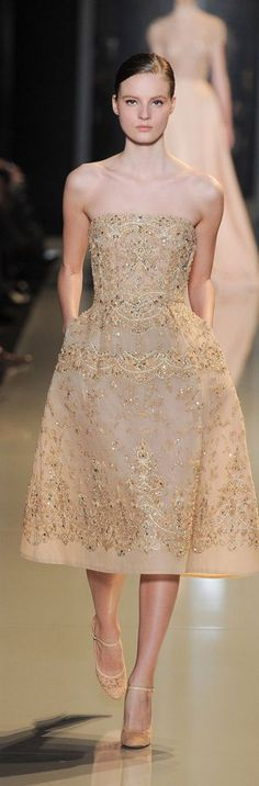 ♔ Paris Haute Couture: Elie Saab spring/summer 2013