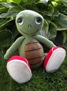 Crochet Turtle I LOVE LOVE this!