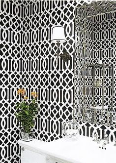 1000 images about wallpaper love on pinterest wallpapers toile wallpaper and wall papers. Black Bedroom Furniture Sets. Home Design Ideas