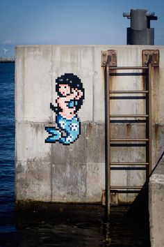 Pixelated Invasions Street-Art in Italy – Fubiz Media