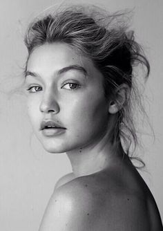 Gigi Hadid - Balck and White portrait Beauty Care, Beauty Hacks, Hair Beauty, Beauty Skin, Beauty Guide, Pure Beauty, Beauty Secrets, Beauty Makeup, Skin Secrets