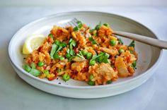 slow cooker paella