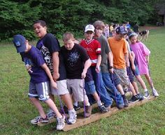 Team Building Activities For Kids….this is the time of year kids need a little team building! This is a great site!