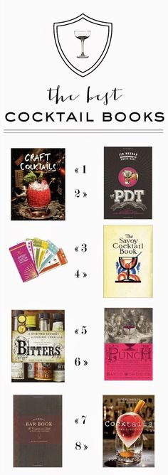 The best cocktail books round up via Mint Love Social Club. Yay, ME! I made the cut!!