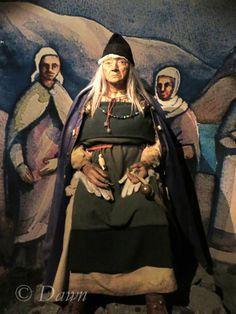 The Volva at the Saga Museum, Reykjavik, Iceland. [Shamanism & The Nordic Goddess]