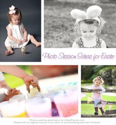 Many photographers plan special Easter themed photo sessions for their clients and we've scoured the web looking for ideas to inspire you! Whether you are a professional photographer or a parent w...