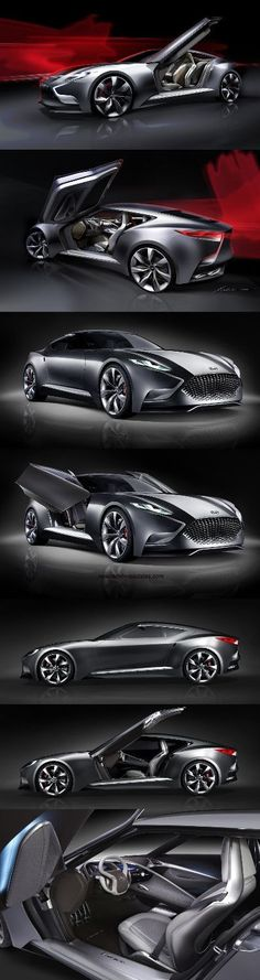 """ALL NEW """" 2017 Hyundai HND-9 Luxury Sports Coupe"""", 2017 Concept Car Photos and Images, 2017 Cars"""