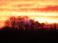 Der Sonnenaufgang in Stegersbach #puchasPLUS #thermenhotel #stegersbach #sonne
