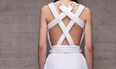 Vestido blanco Noche Branding Design, Womens Fashion, Fashion Design, White Dress, Night, Women's Fashion, Brand Design, Woman Fashion, Branding