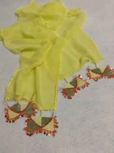 handmade,Needle Lace,yellow&*****