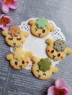 婉婉下午茶: 小绵羊造型饼干Sheep Deco Cookies