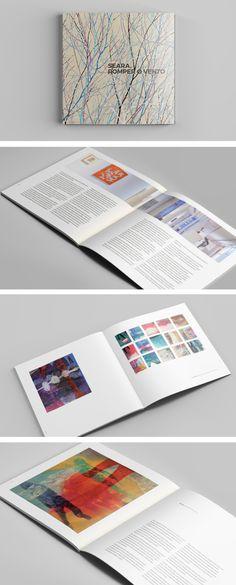 Libro para la exposición de José Luís Seara: Romper o Vento, en Centro Cultural Marcos Valcárcel