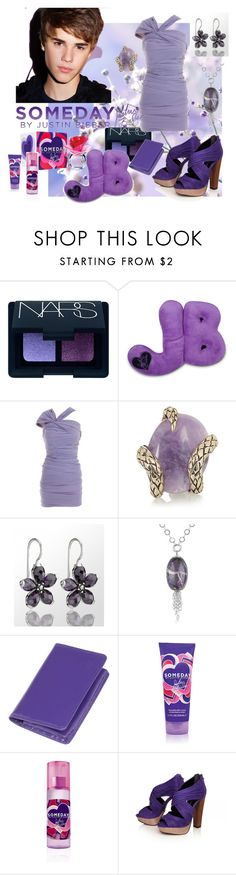 """""""Someday"""" by shinee-pearly ❤ liked on Polyvore featuring NARS Cosmetics, Justin Bieber, La Petite S*****, Roberto Cavalli, Thomas Sabo, Naoto and KG Kurt Geiger"""