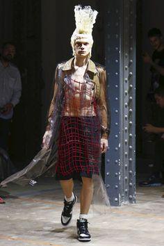 Comme des Garcons Homme Plus Menswear Spring Summer 2017 Paris Runway Fashion, Latest Fashion, Mens Fashion, Live Fashion, Fashion Show, Dedicated Follower Of Fashion, Fashion Photography, Menswear, Spring Summer