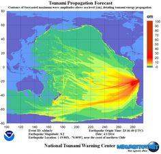 В Чили эвакуировано 900 тыс. человек из-за угрозы возникновения цунами