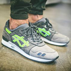 Ronnie Fieg x Asics Gel Lyte III Super Green
