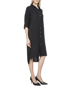 Maxi Viscose Shirt Dress | Woolworths.co.za