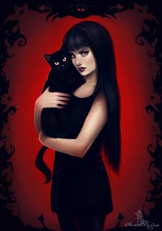 Witches were a bit like cats. They didn't much like one another's company but they did like to know where all the other witches were, just in case they needed them. Terry Pratchett