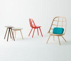 Nadia Lounge Chair Natural von Meetee