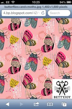 My butterfly and moths pattern made during ASBPD module #1