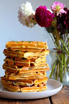 Tefal Snack Collection, Pancakes And Waffles, Love Food, Brunch, Food And Drink, Healthy Recipes, Healthy Food, Sweets, Baking