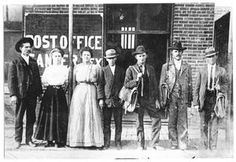 The post office crew in Sanger, Texas back in Great Photos, Old Photos, Vintage Photos, Texas Western, Visit Texas, Texas History, Ancient Artifacts, Old West, Texans