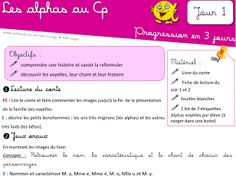 Aperçu miniature d'un élément Drive Chant, Lus, Google Drive, Activities, Miniature, Grande Section, Reading Activities, Alpha Letter