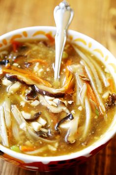 Restaurant Style Chinese Hot & Sour Soup || #Vegan #Recipe
