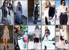 Black and White - pfw - Paris Fashion Week ss16 - street style - nick na europa