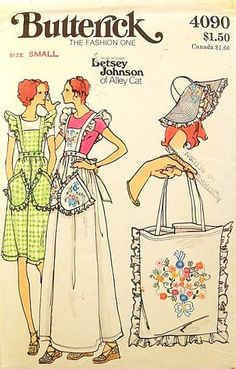Vintage Pattern - sewing my own clothes in Jr high