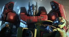 Awesome trailer for the Transformers videogame Fall Of Cybertron