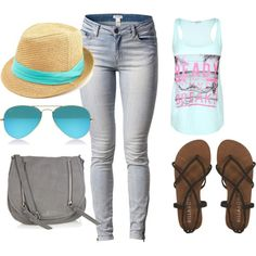 """""""Surf Style"""" by april-nieto on Polyvore"""