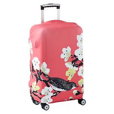 Luggage is an investment, so protect it with our Luggage Covers. Not only does it safeguard your luggage, it adds graphic style and makes your bag easier to spot on a carousel. It's also the perfect way to makeover luggage you own with a fresh new design! Simply slip it over your luggage and snap to secure.